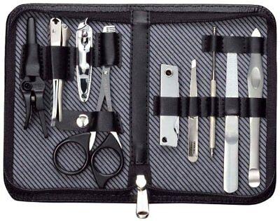 JAPAN MADE Seki Edge Craftsman Grooming Kit (LA G-3108) 9-piece set Freeshipping