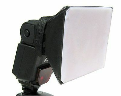 Universal Mini Softbox Flash Gun Diffuser UK Seller