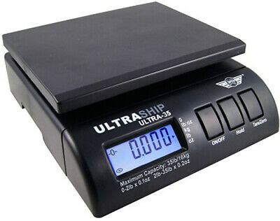 Myweigh Ultraship35 Package Scale 35.3lbs Digital Letter Black