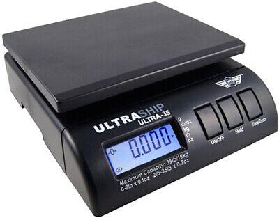 Myweigh Ultraship35 Package Scale 35.3lbs Digital Letter Black