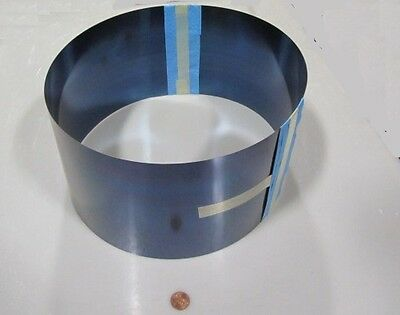 Blue Tempered Spring Steel Shim 0.004 Thick X 6.00 Width X 120 Length Lm