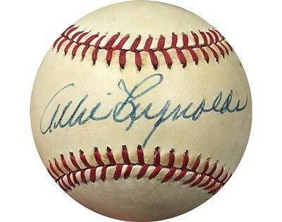 Allie Reynolds Jsa Signed Official American League Baseball Yankees Rare Auto