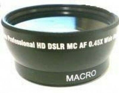 Wide Lens For Samsung Smxf34lnxaa Smx-f34rn Smxf34rnxaa S...