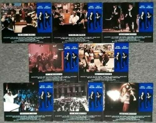 THE BLUES BROTHERS - 1980 Movie Theater Lobby Card Set of 8 - Belushi, Aykroyd
