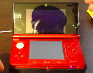 Red Nintendo 3DS and 3DS games - fire sale!