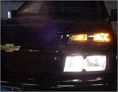 04 & Up GMC Canyon Truck 4 Light High Beam Kit Chevy Colorado Turns Lows Back On