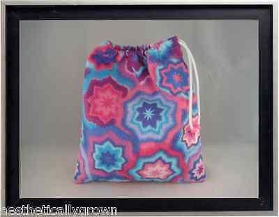 Gymnastics Leotard Grip Bags / Bright Snowflakes Gymnasts Birthday Goody Bag