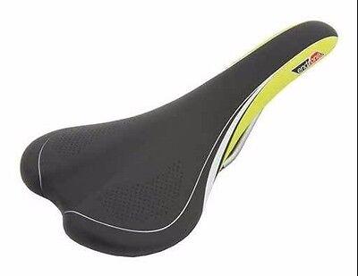 Road Bike saddle seat 1205 Endzone Black/Green mountain bike seat fixie seat