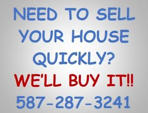 Need To Sell Your Home QUICKLY?