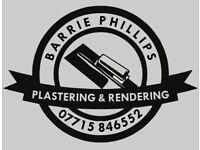Plastering &rendering