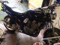Suzuki Bandit 600cc MK1 black mot july 18 swap px why