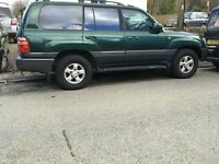 1998 Toyota Landcruiser Amazon Diesel 4x4 Auto *SELLING FOR SCRAP OR PARTS*