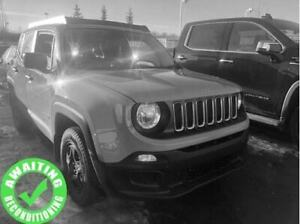 2016 Jeep Renegade Sport 4x4| Rem Entry| Pwr Equip w/Heat Mirror