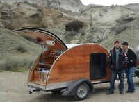 brand new custom teardrop trailers - taking orders to build