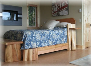 hand crafted timber or log beds,locally based Comox / Courtenay / Cumberland Comox Valley Area image 8