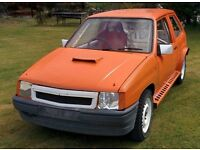 Vauxhall Nova Hatchback - 2 litre SRI - F20 gearbox - Quaife ATB diff - C20XE