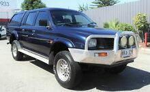 2000 Mitsubishi Triton MK GLX (4x4) Blue 5 Speed Manual 4x4 Utility Pooraka Salisbury Area Preview