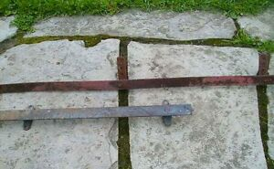 barn - antique barn door roller track wanted