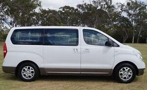 2012 Hyundai iMAX TQ-W MY12 White 4 Speed Automatic Wagon Bundaberg West Bundaberg City Preview