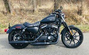 2016 Harley Sportster Iron 883 with only 130 kms!