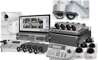 Security cameras installation with special prices