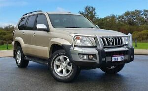 2009 Toyota Landcruiser Prado GRJ120R 07 Upgrade GXL (4x4) Gold 5 Speed Automatic Wagon Cannington Canning Area Preview
