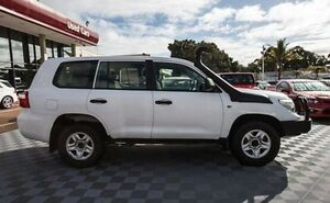 2012 Toyota Landcruiser VDJ200R MY10 GX White 6 Speed Sports Automatic Wagon Alfred Cove Melville Area Preview
