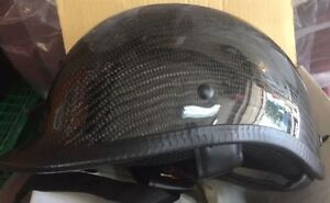 HCI Beanie. XL DOT Carbon Fibre, not ugly mushroom helmet