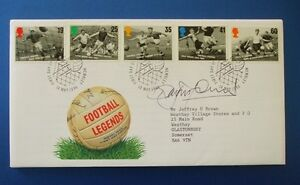 1996 FOOTBALL LEGENDS FIRST DAY COVER SIGNED BY ROY MACFARLAND [ DERBY COUNTY ]