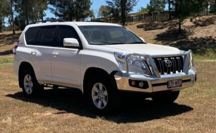 2015 Toyota Landcruiser Prado GDJ150R MY16 GXL (4x4) Glacier White 6 Speed Automatic Wagon Warwick Southern Downs Preview