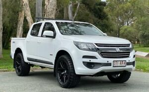 2017 Holden Colorado RG MY17 LS Crew Cab White & Black 6 Speed Sports Automatic Cab Chassis