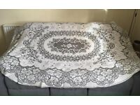 Table cloth Quaker lace