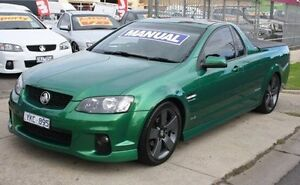 2011 Holden Ute VE II SV6 Thunder Green 6 Speed Manual Utility Altona North Hobsons Bay Area Preview