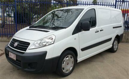 2012 Fiat Scudo MY13 LWB White 6 Speed Manual Van Rocklea Brisbane South West Preview