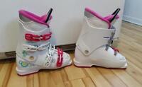 Bottes de ski grandeur 24 (us 5.5) pour filles...