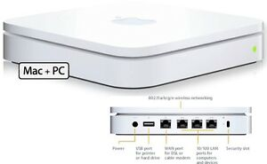 Apple AirPort Extreme 802.11n (2nd Gen) - 25$