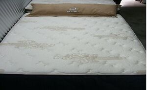 THE EXCELSIOR-UPSCALE QUEEN MATTRESS SET-BAMBOO COVER/SUEDE SIDE