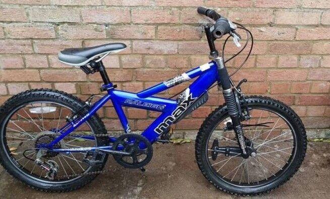 "Boys 12"" frame Raleigh mountain bike"