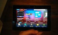 """like new 32 Gb Blackberry Playbook 7"""" tablet w type D HDMI cable"""