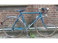 French Vintage bike road racing bike MOTOBECANE frame size 23inch - 12 speed, serviced WARRANTY