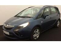 VAUXHALL ZAFIRA TOURER 1.4 T DESIGN SRI 2.0 CDTI EXCLUSIV FROM £45 PER WEEK.