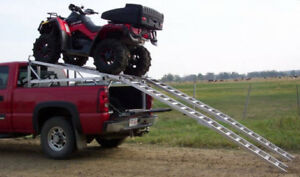 Aluminum Over-Box Riser Unit for 2-up 2-seater ATVs