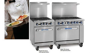 IMPERIAL POELE 6 RONDS FRITEUSE SALAMANDRE / NEW STOVE / FRYER