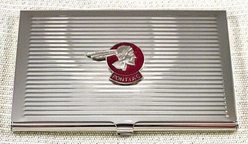 Old Style Pontiac Business Card Case