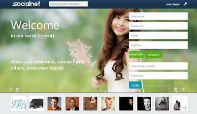 Social Network Website - Free Installation Hosting