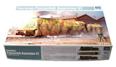 Trumpeter 9360219 Panzerlokomotive Baureihe 57 1:35 Eisenbahn Zug Modellbausatz
