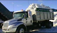 SNOW HAULING / CARTAGE BY DUMP TRUCK