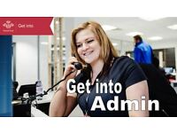 FREE 'Get Into Admin' course with the Prince's Trust (16-25)