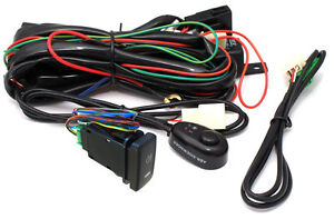 DRIVING LIGHT HARNESS FOR HID AND SPOT LIGHTS - Type 2 - ABR includes 2 switches
