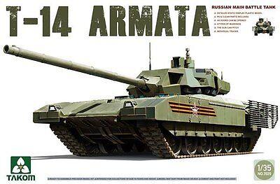 TAKOM 2029 1/35 Russian Main Battle Tank T-14 Armata